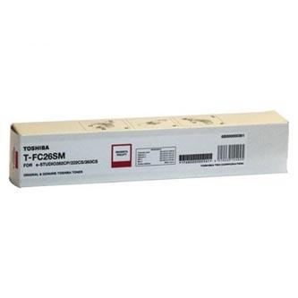 Toshiba originální toner TFC26SM, magenta, 6000str., 6B000000555, high capacity, Toshiba e-Studio 262CP, 222CS, 263CS