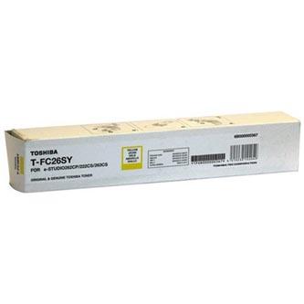 Toshiba originální toner TFC26SY, yellow, 6000str., 6B000000569, high capacity, Toshiba e-Studio 262CP, 222CS, 263CS