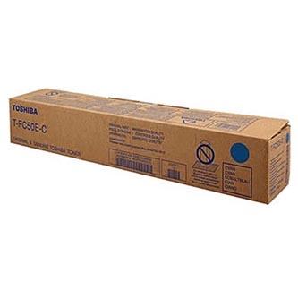 Toshiba originální toner T-FC50EC, cyan, 33600str., 6AJ00000113, Toshiba e-studio 2555CSE, 3055CSE, 3555CSE, 4555CSE