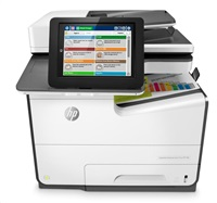 HP PageWide G1W39A, Enterprise Color MFP 586dn (A4,75 ppm, USB 2.0, Ethernet, Duplex, Print/Scan/Copy)