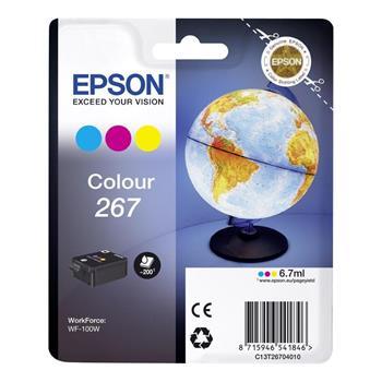 Epson inkoustová náplň/ C13T26704010/ WF-100W/ Barevná