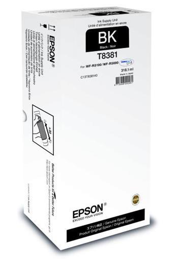Cartridge Epson T8381, C13T838140, XXL, Black, originální