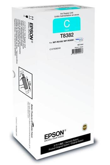 Cartridge Epson T8382, C13T838240, XXL, originální, Cyan