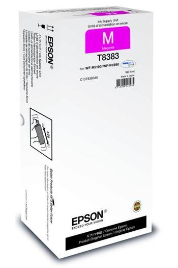Cartridge Epson T8383, C13T838340, XXL, originální, Magenta