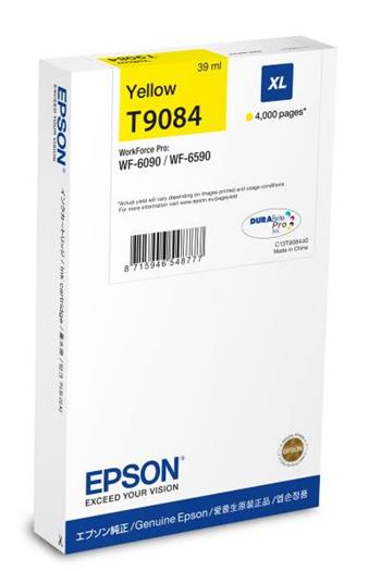 Ink Epson Cartridge XL Yellow | 39 ml | WF-6xxx Series