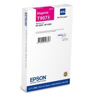 Epson T9073 - originální purpurový inkoust XXL, C13T907340, 69ml, Epson WorkForce Pro WF-6090DW