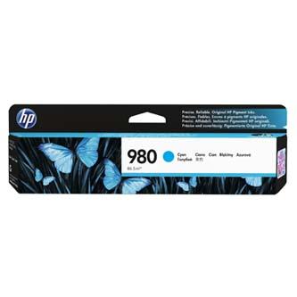 HP originální ink D8J07A, No.980, cyan, HP HP OfficeJet Enterprise X585, X555