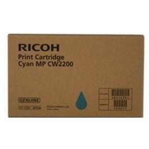 Ricoh originální ink 841636, cyan, Ricoh MPC W2200SP