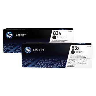 HP CF283AD - originální černý toner HP 83A pro HP LJ Pro M201dw,M201n,MFP M125a,MFP M125nrw (2 k