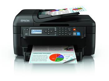 EPSON WorkForce WF-2750DWF - Barevná inkoustová multifunkční tiskárna, rozlišení 4800 x 1200