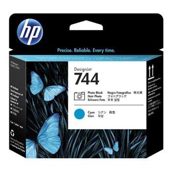 HP Ink/744 Photo Black+Cyan Printhead, HP Ink/744 Photo Black+Cyan Printhead