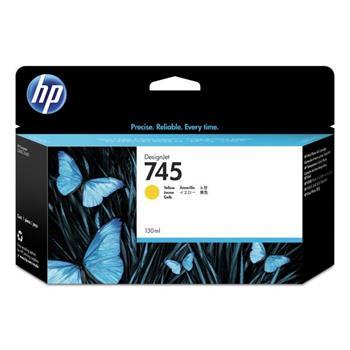 HP Ink/745 130-ml Yellow, HP Ink/745 130-ml Yellow