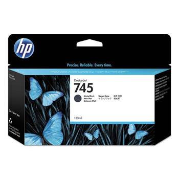 HP Ink/745 130-ml Matte Black, HP Ink/745 130-ml Matte Black