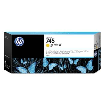 HP Ink/745 300-ml Yellow, HP Ink/745 300-ml Yellow