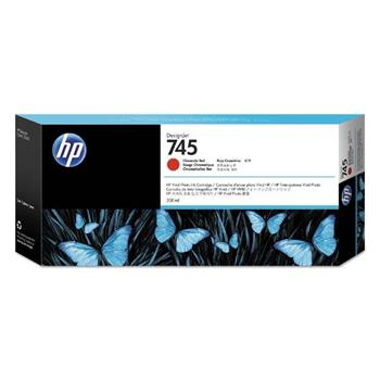 HP Ink/745 300-ml Chromatic Red, HP Ink/745 300-ml Chromatic Red