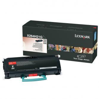 Toner Lexmark X264H21G, černý (black), 9000str., high capacity, Lexmark X264, X363, X364