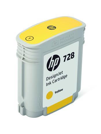 HP 728 40-ml Yellow DesignJet, HP 728 40-ml Yellow DesignJet