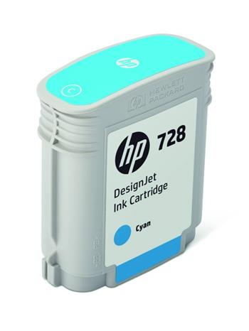 HP 728 40-ml Cyan DesignJet, HP 728 40-ml Cyan DesignJet